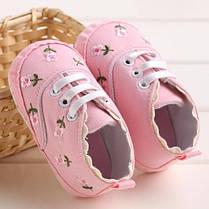 Детские кеды - пинетки для девочек, фото 3