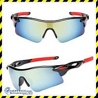 Окуляри спортивні дзеркальні для вело, мотоспорту Silenta Sport, TI8002.