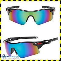 Окуляри спортивні дзеркальні для вело, мотоспорту Silenta Sport, TI8003.