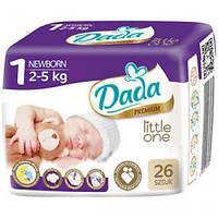 Подгузники Dada №1 Premium newborn 2-5kg 26шт.
