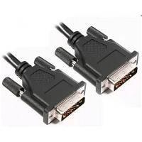 Кабель мультимедийный DVI to DVI 24+1pin, 5.0m Viewcon (VD 104-5м.)