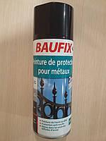 Лак-краска черного цвета, 400 мл Baufix