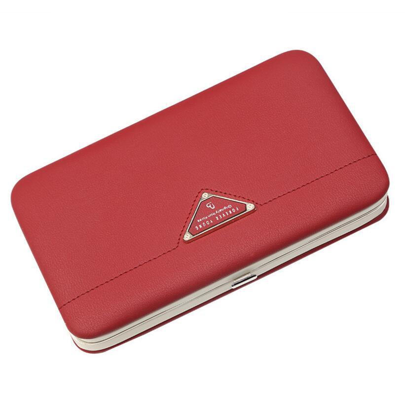 Женский кошелек BAELLERRY Forever Young Girl кожаный клатч с ремешком Красный (SUN1059)