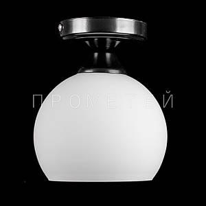 Люстра стельова на 1 лампочку P3-SK17503/1C/BK