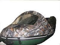 Носовой тент со стеклом на лодку от 3.30 до  3,60 метров