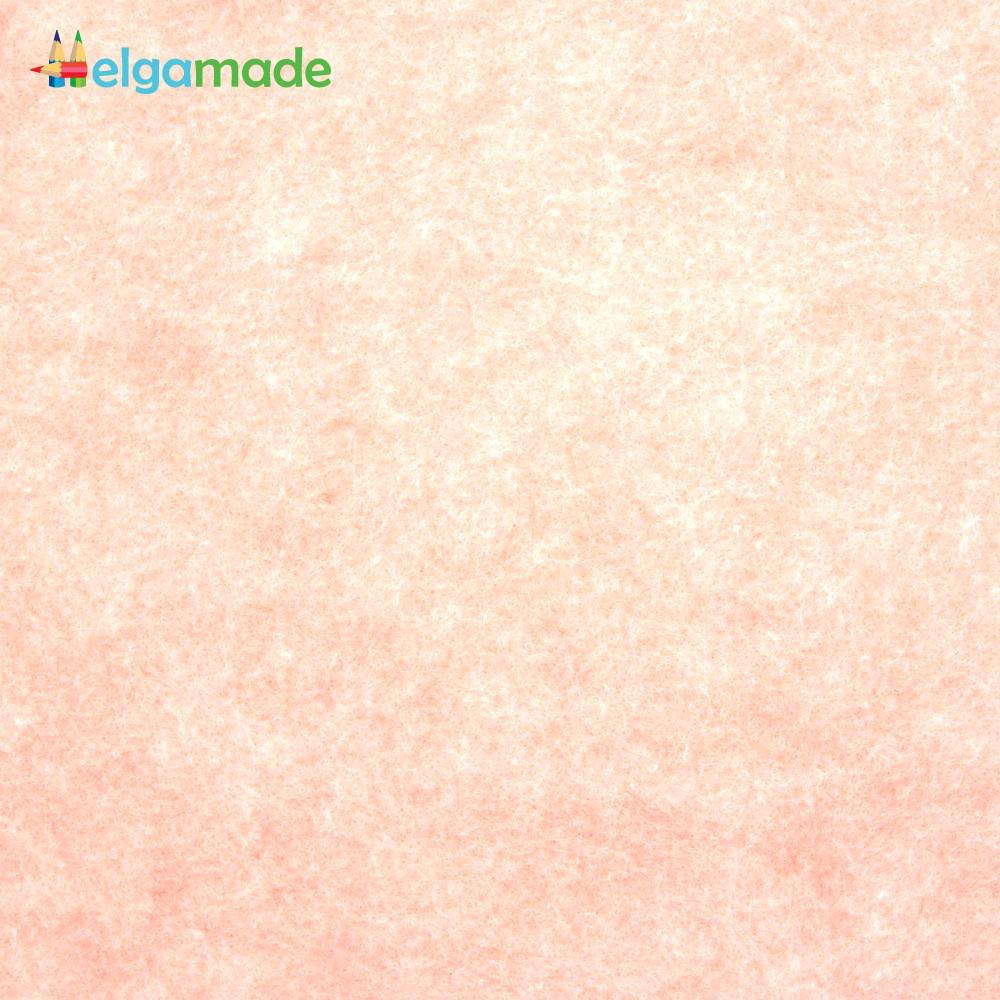 Фетр американский ПШЕНИЧНОЕ ПОЛЕ меланж, 15x23 см, 1.3 мм, полушерстяной мягкий