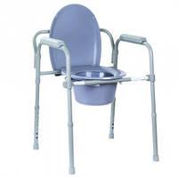 Складной стул-туалет OSD-2110C , Складной стул-туалет для инвалидов