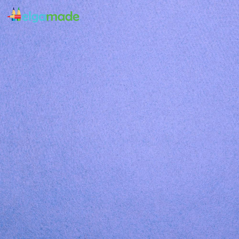 Фетр американский БАРВИНОК, 15x23 см, 1.3 мм, полушерстяной мягкий