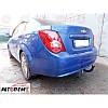 Фаркоп условносъемный Chevrolet Aveo T300 (sedan) 2012-... ТМ Вастол, фото 9