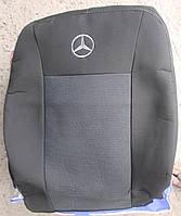 Авточехлы Atego 1+1 2005- автомобильные модельные чехлы на для сиденья сидений салона MERCEDES Мерседес Atego