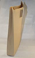 Пакет бумажный саше 410х250х60 крафт бурый макулатурный (упаковка 800 штук)