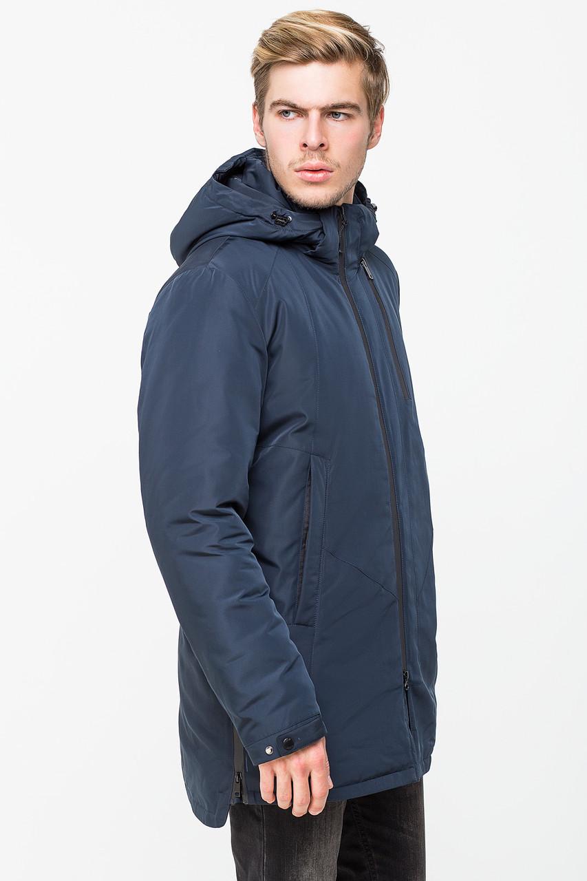 Мужская демисезонная куртка KTL T-291 темно-синего цвета
