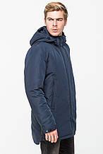 Мужская демисезонная куртка KTL T-291 темно-синего цвета (#607)