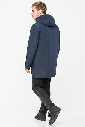 Мужская демисезонная куртка KTL T-291 темно-синего цвета, фото 2