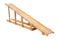 Горка зимняя для площадки деревянная