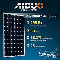 Солнечная панель AIDUO ECOSHINE-60S 295 W MONO 5BB 295W
