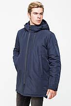 Мужская демисезонная куртка KTL T-291 цвета морской волны (navy)