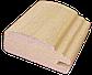 Рамковий профіль МДФ №027 шпонований 25 мм 2,8мх55 мм, фото 2