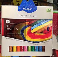 Пастель масляная MARCO 24 цвета
