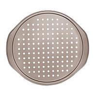 Форма для пиццы с дырочками 33*1.2см MH-0494 (48шт)