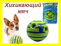 Игрушка для собак мяч хихикающий Wobble Wag Giggle
