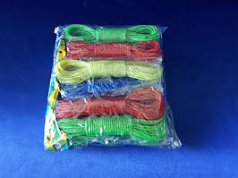 Білизняна мотузка в наборі з 2-х 10 м.