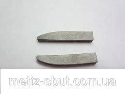 Твердосплавные пластины напайные ГОСТ 25400-90 (напаиваемые)