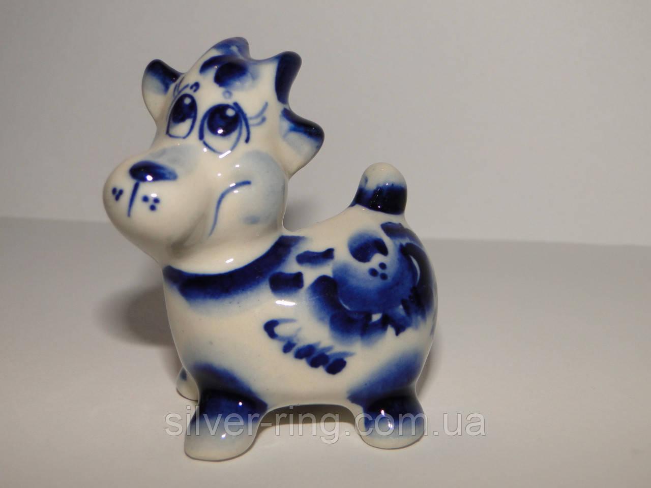 Подарок на новый год - синяя коза