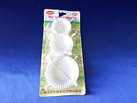 Форма пластмассовая для вареников в наборе из 3-х