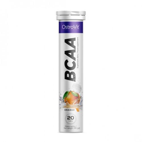Аминокислоты OstroVit - BCAA (20 таблеток) апельсин