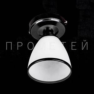 Люстра стельова на 1 лампочку P3-SK17504/1C/BK