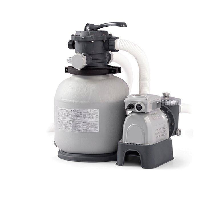 Песочный насос фильтр Intex Sand Filter Pump, мощностью 10 000 лч. Фильтр для бассейнов