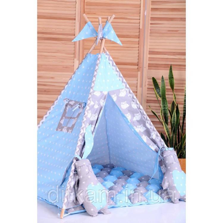Вигвам Ноченька. Шалаш. Игровой домик. Детская палатка