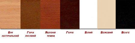 Стул разборной деревянный с мягким сиденьем Милан-Н Микс мебель, цвет орех, фото 2
