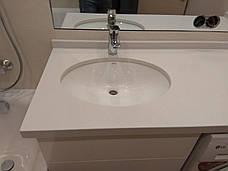Стільниця у ванну з кварциту Technistone Crystal Nevada, фото 2
