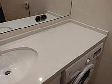 Столешница в ванную из кварцита Technistone Crystal Nevada, фото 2