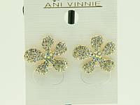 Серьги оптом - суперная ювелирная бижутерия Ani Vinnie от RRR .1575