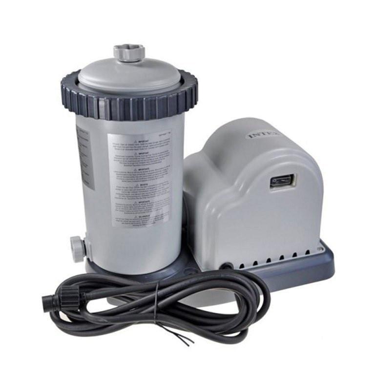 Картриджный фильтр насос Intex мощностью 5 678 лч. Фильтр для бассейнов