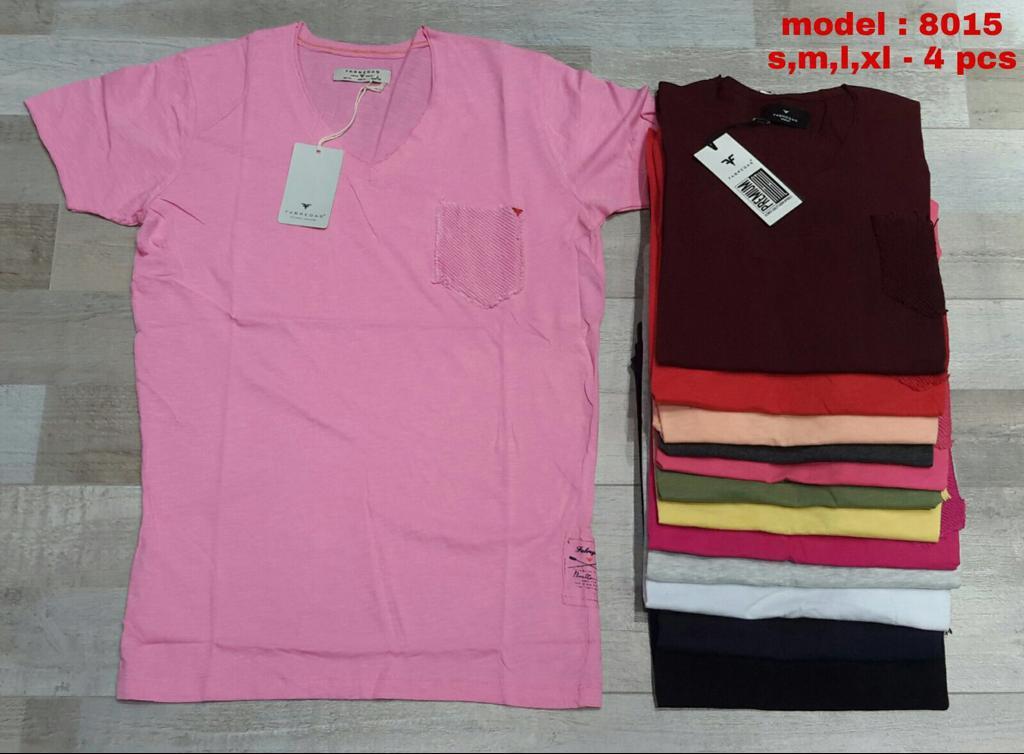 мужская футболка Fabregas 8015 Малиновая