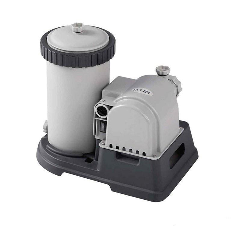 Картриджный фильтр насос Intex мощностью 9 463 лч. Фильтр для бассейнов