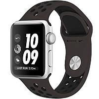 Ремешок для Apple Watch Sport Nike 38mm cocoa black (тем.коричнево-черный)
