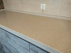 Столешница из кварца Technistone Starlight Sand, фото 3