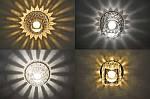 Точечные и встраиваемые светильники LED Колекція Crystal