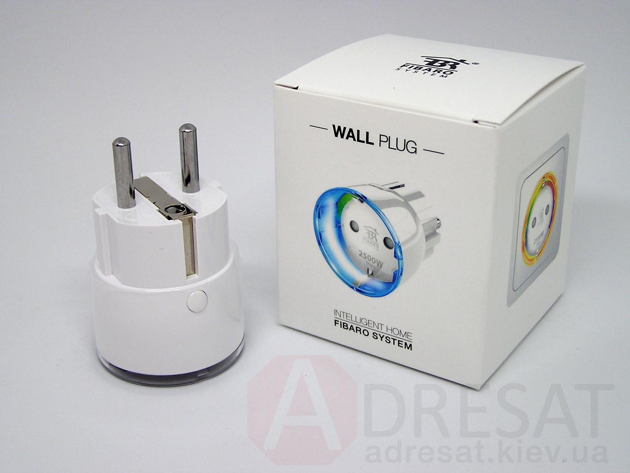 FGWPF-102 FIBARO Wall Plug, Z-Wave розетковий модуль