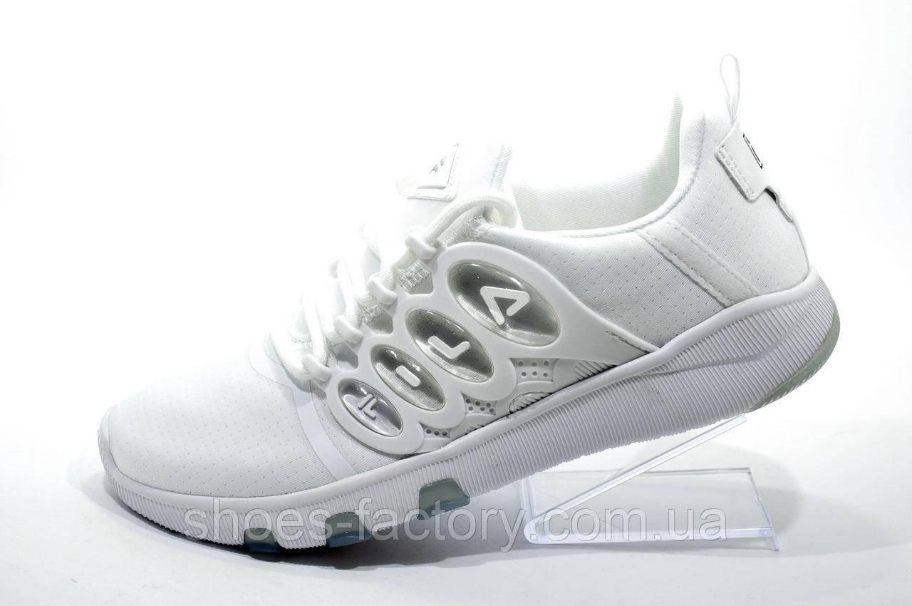 Женские кроссовки в стиле Fila, White\Белые