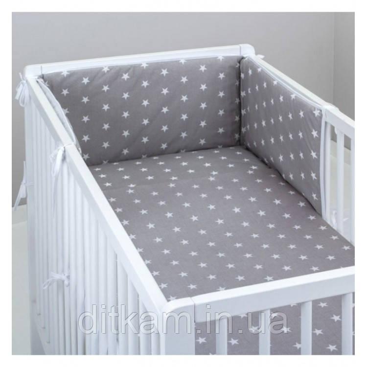 Комплект в кроватку Хатк 6 в 1 Звезды