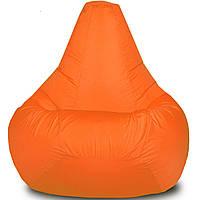 Кресло-мешок Груша Хатка детская Оранжевая