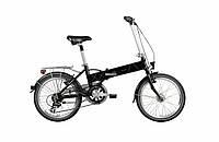 Електровелосипед складний VAUN Egon 20 Schwarz 7Ah\250W Німеччина, фото 1