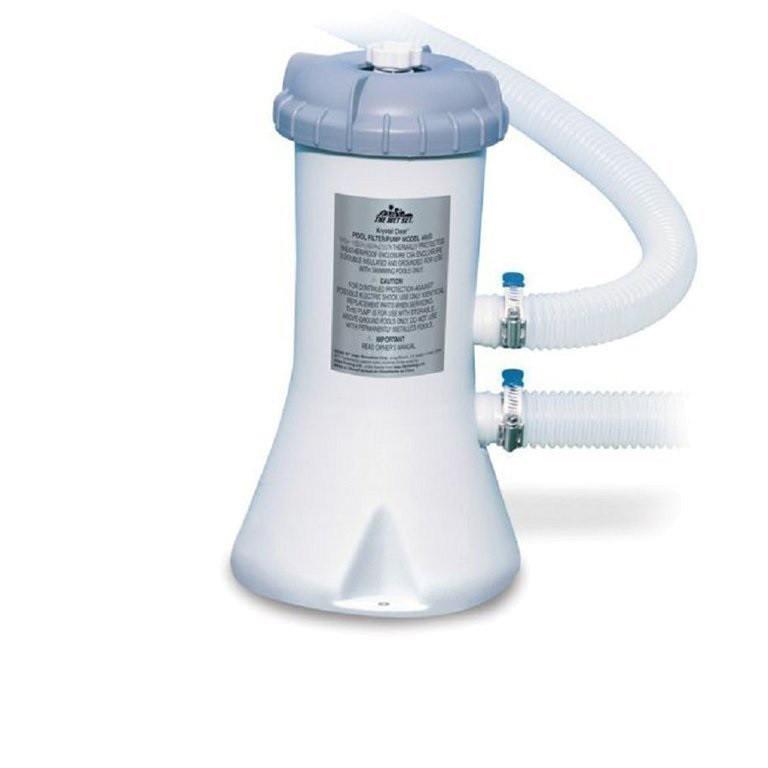 Картріджний фільтр насос для басейну Intex 28604 (58604), потужністю 2006 лч
