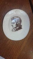 Фарфоровое настенное панно Мейсен Моцарт